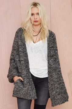 UNIF Mellow Knit Cardigan