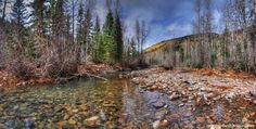 A favorite thought-fishing spot. The trouts are plentiful, and the thinking gets prolific. Cascades Trail - #Hiking #Durango #Colorado Trails - 360Durango.com