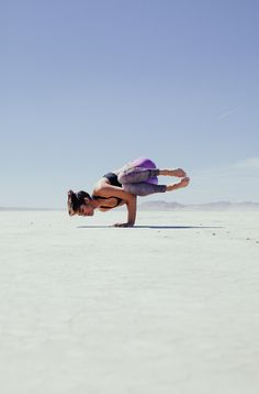 side crow #yoga