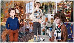 #FashionSnoops FW 17/18 Kids trends on #WeConnectFashion. Boys theme: Wunderkind - the mood.