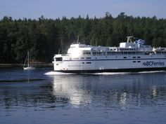 A BC Ferry traveling to Victoria British Columbia Canada - See More @gr8traveltips
