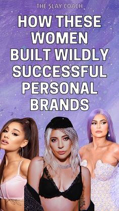 A good personal brand is the difference between STANDING OUT - being seen as the 'go-to-girl' whenever someone brings to mind what you're known for - and falling between the cracks and being forgotten about. Today I want to share with you 5 women who have absolutely nailed their personal branding to get you inspired and lit up about creating your own unique AF brand! #branding #brandtips #businesstips #personalbrand #arianagrande #ladygaga #kyliejenner Blog post by The Slay Coa