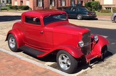 [ATTACH] 1932 Ford coupe with Henry steel body and new Brookville floor and firewall in latest yr complete rebuild. Hot Rods, 1932 Ford, Old Classic Cars, Car Ford, Street Rods, Custom Cars, Muscle Cars, Cars For Sale, Cool Cars