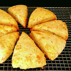 Cheesy Buttermilk Scones. Lots of good recipes on this website.