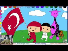 Pepee Boyama Oyunu Oynadim Allaha Sukur Hicbir Boya Sikinti Cikartmadi Childrens Songs Watch Cartoons Games