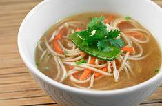 Lemon-Ginger Chicken Noodle Soup