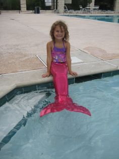 Um can they make me one my size?! My daughter will so have one! Swimsuit Mermaid Tail with Monofin by SaltAirTextiles on Etsy, $120.00