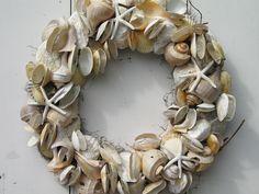 Seashore Shell Wreath