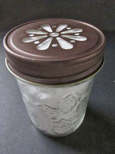Mason Jar as Refrigerator Deodorizer Holder
