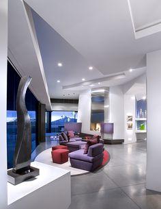 Modern Living Room, Ultra Modern Living Room, Contemporary Family Room, Home Inspiration, Arizona Architecture, Nature Inspired Interior Ideas, Creative Decor, Desert Designs, Custom Home