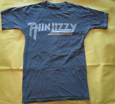 b3ed0816e Details about Thin Lizzy 'The Boys Are Back In Town' T-Shirt - NEW &  OFFICIAL