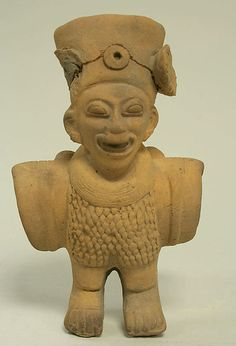 Anthropomorphic Bird Figure  Date:     1st–5th century Geography:     Colombia or Ecuador Culture:     Tolita-Tumaco