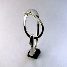 Sterling Silver Cuff Bracelet, Large Loop Latch by cgwhitfield on Etsy https://www.etsy.com/listing/52974724/sterling-silver-cuff-bracelet-large-loop