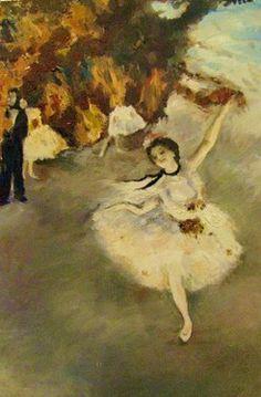 "Saatchi Art Artist Svetà Art; Painting, ""Danseuse "" #art"