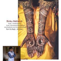 Rinku Mehandi @sohanlal251 #rinkumehandi #mehandi #bridalmehandi #sohanmehandi by rinkumehandi1