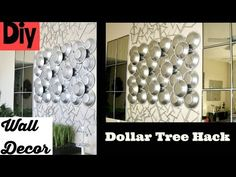 Diy Mirror Decor Quick And Easy Using Dollar Store Items. - YouTube