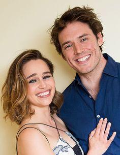Emilia Clarke et Sam Claflin - A DUPLA DO MOMENTO - LINDOS, CARISMÁTICOS E BONS ATORES; TUDO PARA ME BEFORE YOU, SER UM SUCESSO.