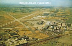 mcclellan afb | McClellan Air Force Base | I think is was around March 1980 I became a Staff Sargent with the 406 Logistics Air Force Reserves Stationed at McClellan AFB in Sacramento, CA and with it for 4 years being to 1984. Have some History of going overseas on my weekly tour duty.