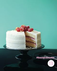 Lemon Cake with Lemon Cream Cheese Frosting. #HummingbirdCompetition