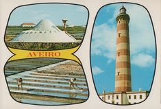 DISTRITO DE AVEIRO antigas imagens Portugal, Surfboard, Poster, Bell Rock Lighthouse, Anos 60, Surfboards, Posters