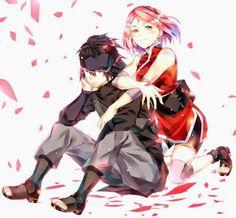 Sasuke and Sakura   Naruto
