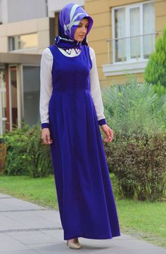 Turkish Fashion, Office Looks, Muslim, Hijabs, Silk, Dresses, Gowns, Office Attire, Dress
