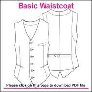 mens waistcoat patterns - Google Search