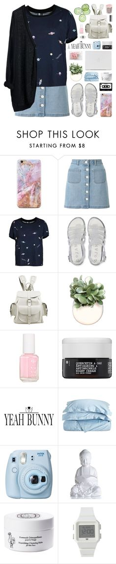 """YeahBunny 🐰💖🌹"" by novalikarida ❤ liked on Polyvore featuring Miss Selfridge, Aéropostale, Grafea, WALL, Essie, Korres, Impressions, Fujifilm, Diptyque and adidas"