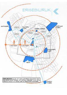 23 Ideas Landscape Concept Diagram For 2019 Site Analysis Architecture, Architecture Graphics, Landscape Architecture, Map Design, Home Design, Urbane Analyse, Masterplan, Map Diagram, Planer Layout