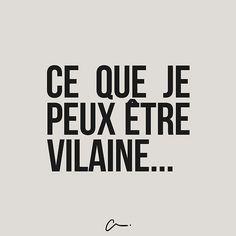 Ce que je peux être vilaine #LesCartons