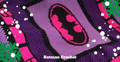 Get your Batman crochet pattern in time to make for the holidays.  #myvictoriarose