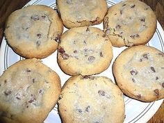 Homemade Deep Dish Chocolate Chip Ghirardelli Caramel Filled Cookies (1 Dozen)