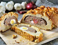 Gevuld brood (Hornazo) uit de Airfryer   Philips-Gevuld brood (Hornazo) uit de Airfryer   Philips