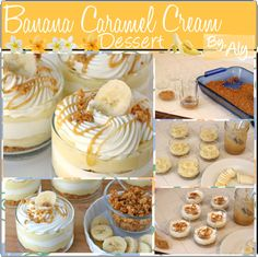 """""""Banana Caramel Cream Dessert."""" by fabulous-tipsters ❤ liked on Polyvore"""
