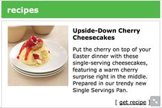 Sounds delicious, but I'll use my reduced fat cream cheese.   http://www.pamperedchef.biz/images/en_US/news/recipes/pdf/featured_recipe1.pdf