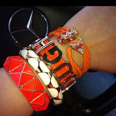 Today's arm candy!
