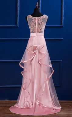 long prom dresses - Prom gown, the women's elegant formal wedding party bridesmaid ball gown Pink Formal Dresses, Party Dresses For Women, Wedding Party Dresses, Trendy Dresses, Elegant Dresses, Bridesmaid Dresses, Prom Dresses, Formal Wedding, Dress Formal