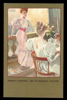 FERNET BRANCA POSTER 1895