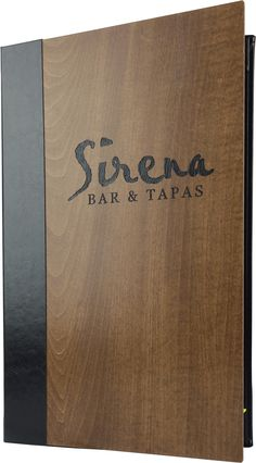Sirena - 382212 - Create an attractive arrangement of your menu items with menu covers from Menu Designs. We have a large selection of menu covers made from the finest materials. Whether you're a café interested in menu boards or a five star dining establishment who's looking for leather menu covers, we're sure you'll find the perfect menu covers for your restaurant.