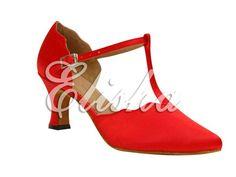 women red closed toe ballroom salsa chacha latin dance shoes on AliExpress.com. $35.50