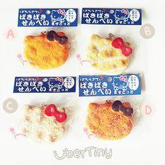 Rare* hello kitty paki paki crackling rice cracker senbei squishy (licensed)