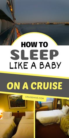 How to Sleep Like a Baby on Your Cruise - Cruise tips on how to make sure you get a good nights sleep in your cruise ship cabin. Packing For A Cruise, Cruise Travel, Cruise Vacation, Vacation Ideas, Honeymoon Cruise, Vacation Planner, Family Cruise, Packing Lists, Vacation Pictures