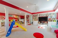 Playroom Organization Design Ideas, Pictures, Remodel, and Decor - page 3