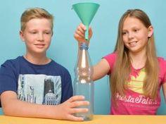 Experimente mit Wasser: Geisterhafte Wasserflasche