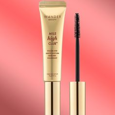 de7929227c7 Wander Beauty Mile High Club Mascara product and on lashes Mascara Review,  Wander, Eyeliner