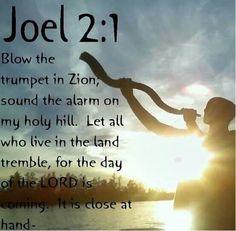 FEAST OF TRUMPETS Joel 2:1
