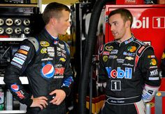 Kasey Kahne and Austin Dillon. I'll gladly take the one on the left ;) (Kasey Kahne)