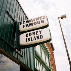 coney island hot dog in Fort Wayne IN