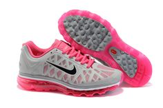 on sale 51f3f 6880e Exclusive Nike Air Max 2011 Womens Gray Pink Black Running Shoes In Outdoor  nike tuned air x max tn trainers shoes