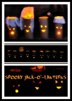 Toilet Paper roll lanterns